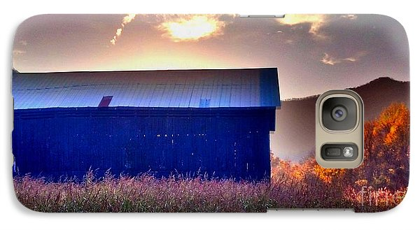 Galaxy Case featuring the photograph Fall Barn by Janice Spivey