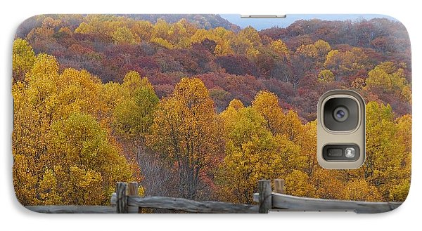 Galaxy Case featuring the photograph Fall Blend by Eric Liller