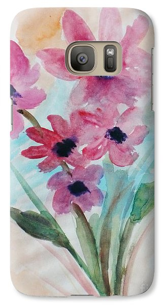 Galaxy Case featuring the digital art Fall Bunch by Trilby Cole