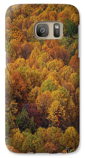 Galaxy Case featuring the photograph Fall Cluster by Eric Liller