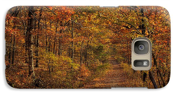 Galaxy Case featuring the photograph Fall Color At Centerpoint Trailhead by Michael Dougherty