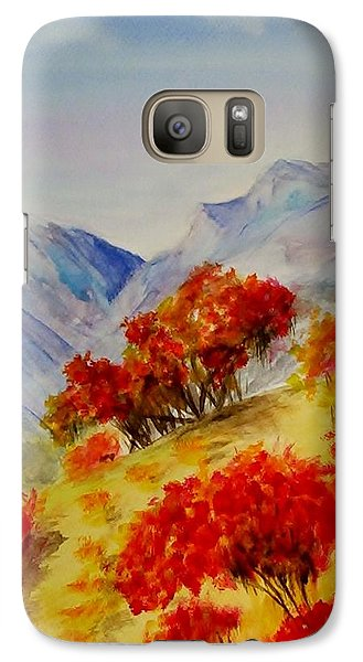 Galaxy Case featuring the painting Fall Color by Jamie Frier