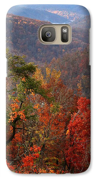 Galaxy Case featuring the photograph Fall Color Ponca Arkansas by Michael Dougherty