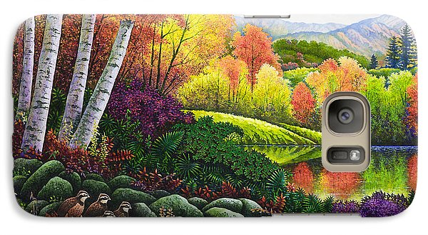 Galaxy Case featuring the painting Fall Colors by Michael Frank
