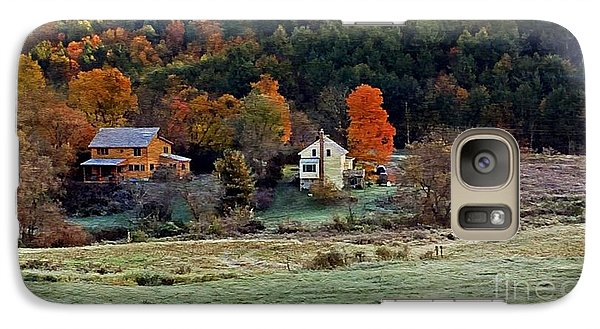 Galaxy Case featuring the photograph Fall Country Side - Vt2015 by Joe Finney