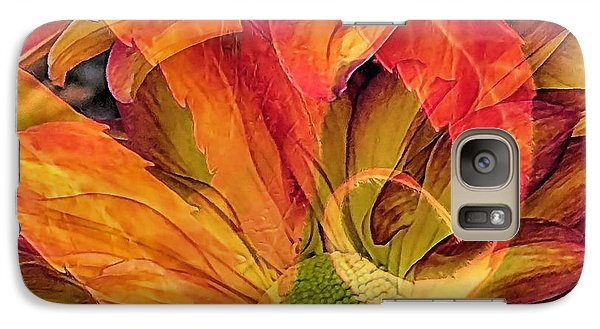 Galaxy Case featuring the photograph Fall Floral Composite by Janice Drew