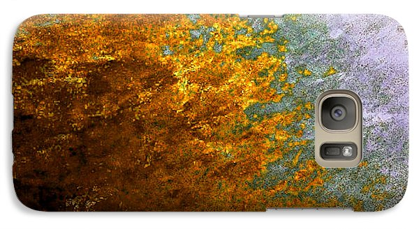 Galaxy Case featuring the digital art Fall Foliage by John Krakora