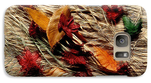 Fall Foliage Still Life Galaxy S7 Case