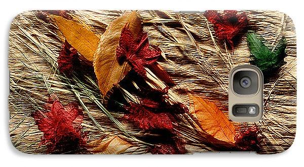 Fall Foliage Still Life Galaxy S7 Case