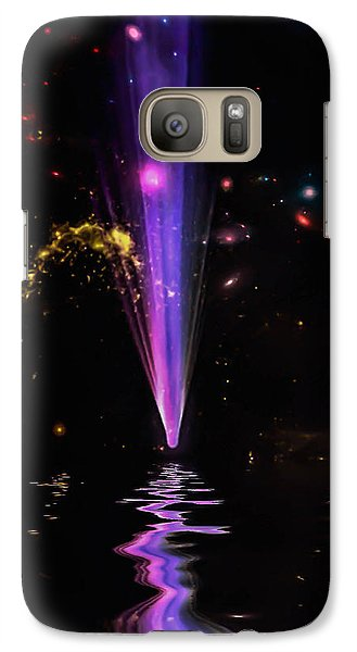Galaxy Case featuring the photograph Fall From Grace by Naomi Burgess