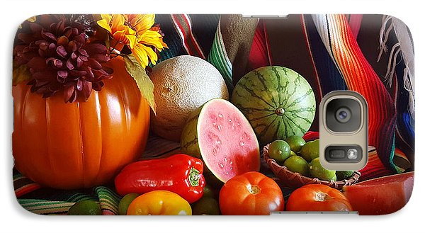 Galaxy Case featuring the painting Fall Harvest Still Life by Marilyn Smith