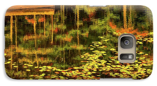 Galaxy Case featuring the photograph Fall Impressions by Rebecca Hiatt