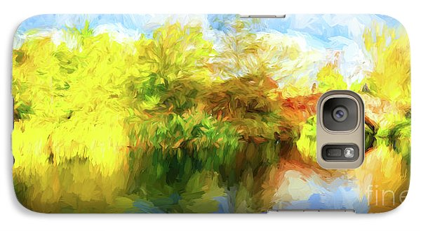 Galaxy Case featuring the photograph Fall In Central Park by Jim  Hatch