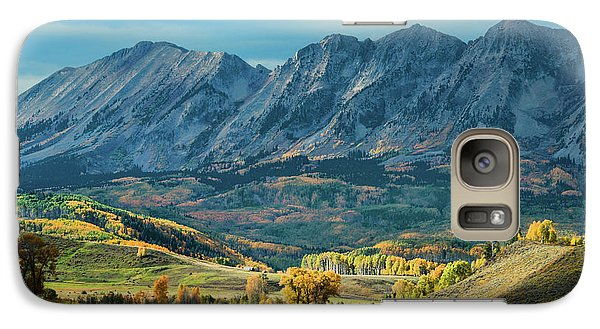 Galaxy Case featuring the photograph Fall In Gunnison County by Dana Sohr