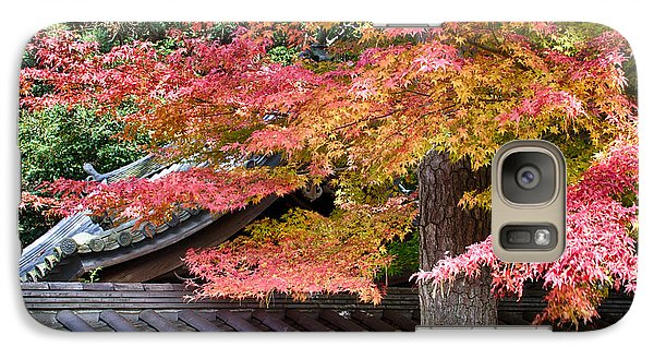 Galaxy Case featuring the photograph Fall In Japan by Tad Kanazaki