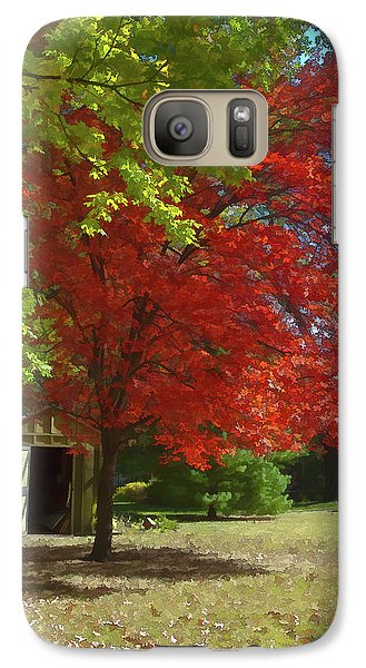 Galaxy Case featuring the photograph Fall Is Coming by Michael Flood