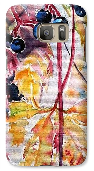 Galaxy Case featuring the painting Fall by Kovacs Anna Brigitta