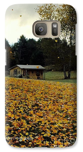 Galaxy Case featuring the photograph Fall Leaves - No. 2015 by Joe Finney