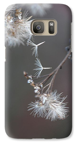 Galaxy Case featuring the photograph Fall - Macro by Jeff Burgess