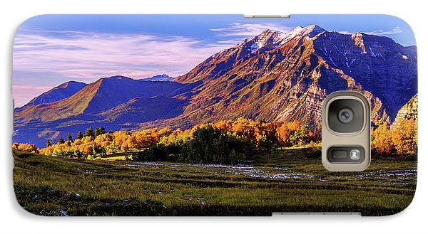Mount Rushmore Galaxy S7 Case - Fall Meadow by Chad Dutson