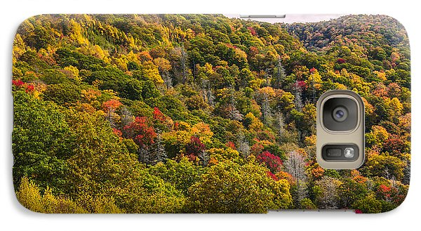 Galaxy Case featuring the photograph Fall Mountain Side by Tyson Smith