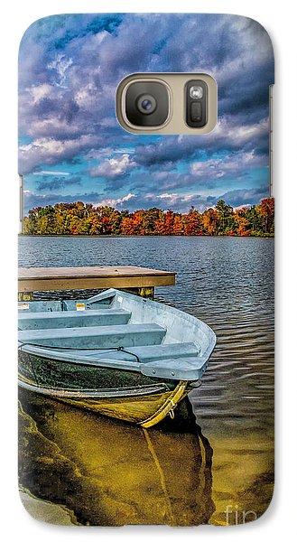 Galaxy Case featuring the photograph Fall On Alloway Lake by Nick Zelinsky