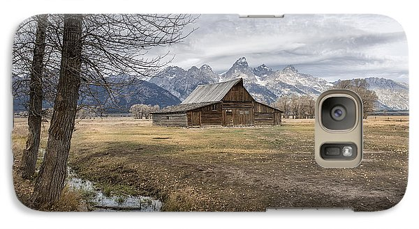 Galaxy Case featuring the photograph Fall On Mormon Row - Grand Teton National Park by Sandra Bronstein