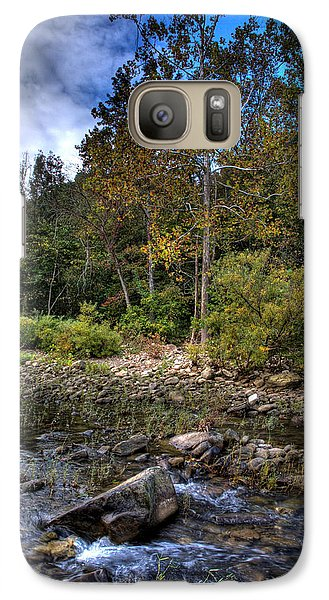 Galaxy Case featuring the photograph Fall On The Hailstone by Michael Dougherty