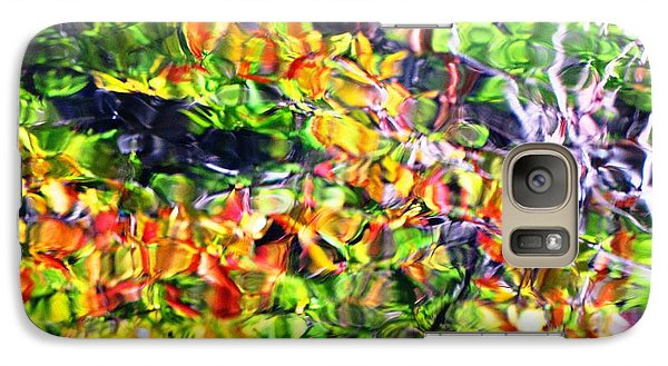Galaxy Case featuring the photograph Fall On The Pond by Melissa Stoudt