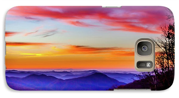 Galaxy Case featuring the photograph Fall On Your Knees by Karen Wiles