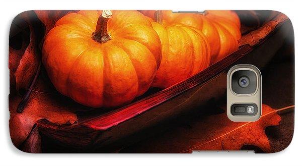 Pumpkin Galaxy S7 Case - Fall Pumpkins Still Life by Tom Mc Nemar