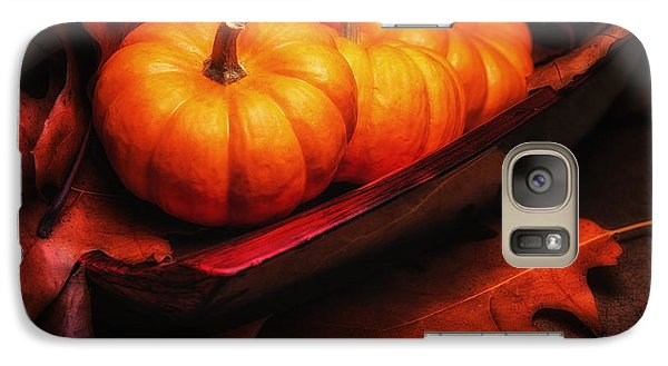 Fall Pumpkins Still Life Galaxy S7 Case by Tom Mc Nemar