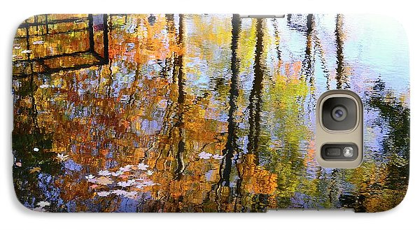 Galaxy Case featuring the photograph Fall Reflections by Corinne Rhode