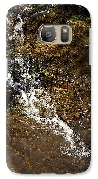 Galaxy Case featuring the photograph Fall Runoff At Broadwater Falls by Michael Dougherty
