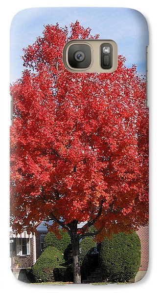 Galaxy Case featuring the photograph Fall Season by Suhas Tavkar