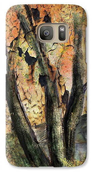 Galaxy Case featuring the painting Fall Splendor  by Annette Berglund