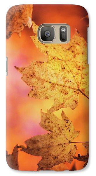 Fall Reveries Galaxy S7 Case by Priya Saihgal