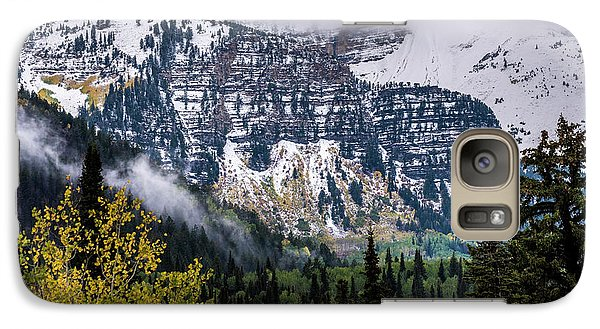 Galaxy Case featuring the photograph Fall Storm In Wasatch Mountains - Utah by Gary Whitton