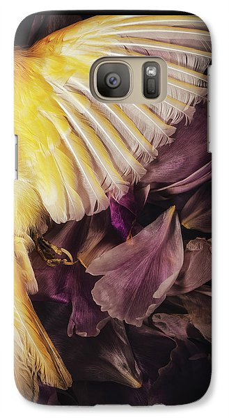 Galaxy Case featuring the photograph Fallen by Amy Weiss