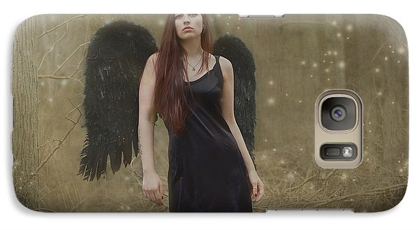 Galaxy Case featuring the photograph Fallen Angel by Brian Hughes