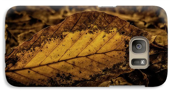 Galaxy Case featuring the photograph Fallen Color by Odd Jeppesen