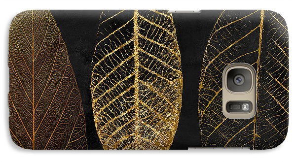 Flowers Galaxy S7 Case - Fallen Gold II Autumn Leaves by Mindy Sommers