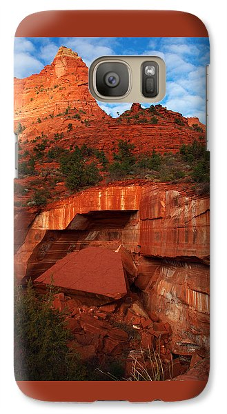 Galaxy Case featuring the photograph Fallen by James Peterson