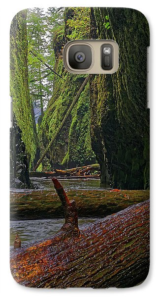 Galaxy Case featuring the photograph Fallen by Jonathan Davison