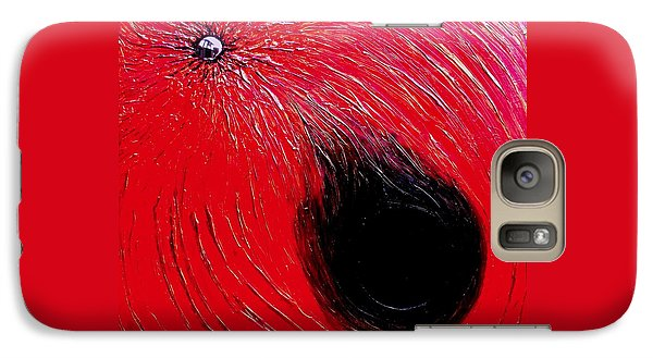 Galaxy Case featuring the painting Falling In To Passion by Ian  MacDonald