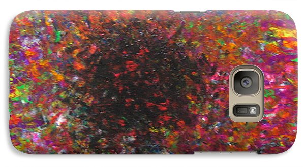 Galaxy Case featuring the painting Falling by Jacqueline Athmann