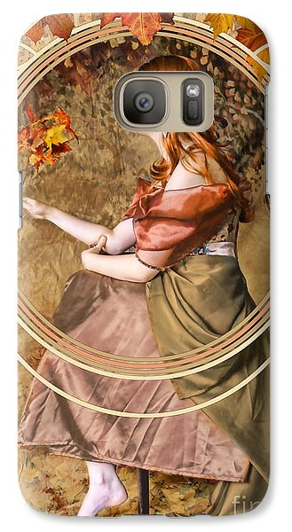 Falling Leaves Galaxy S7 Case by John Edwards