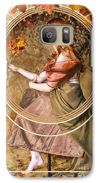 Falling Leaves Galaxy S7 Case