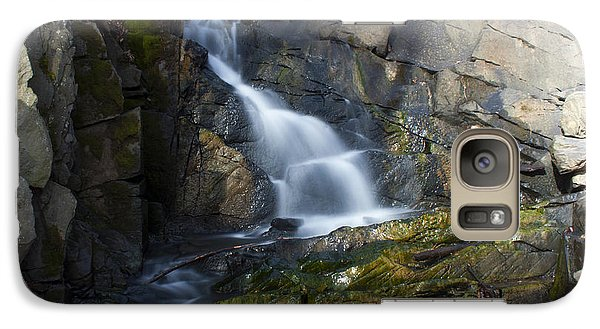 Galaxy Case featuring the photograph Falling Waters In February #2 by Jeff Severson