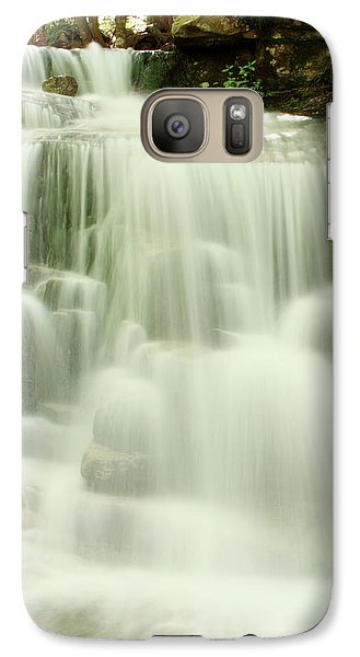 Galaxy Case featuring the photograph Falling Waters by Roupen  Baker